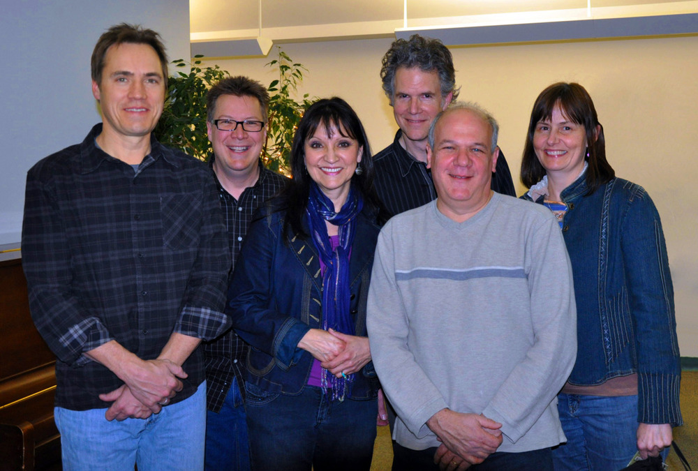 Sheila & Jeannette with Chris Jones & the Nightdrivers January 28, 2011