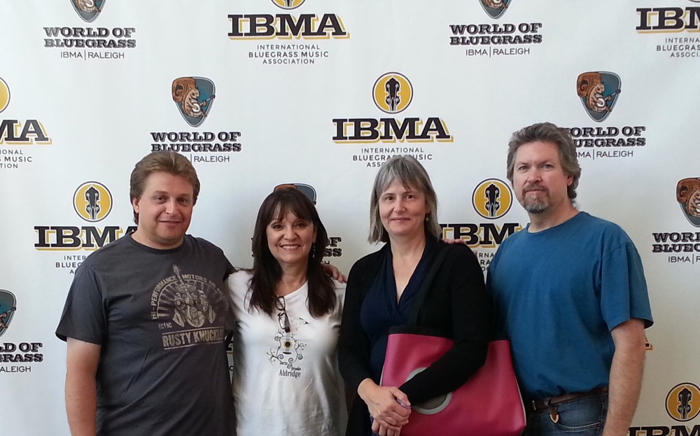 Prairie Sky at the IBMA's in Raleigh, NC October 2014