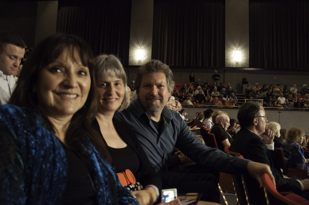Jeannette, Sheila & Alex at the IBMA Awards Show in Raleigh NC October 2014