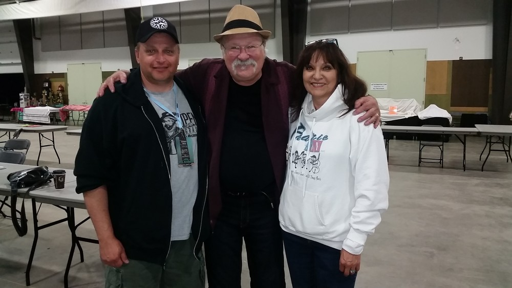 Kenny & Jeannette with Seldom Scene's Dudley Connell