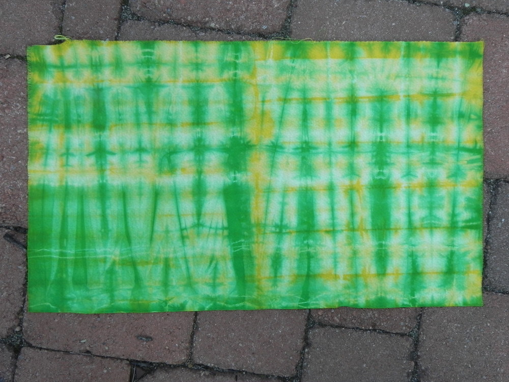"Green and yellow grid ""after"""