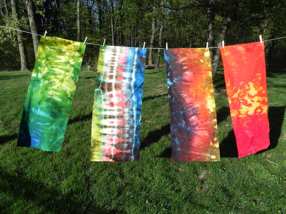 All of the newer tapestries. (See my last hand-dyed post for my first two.)