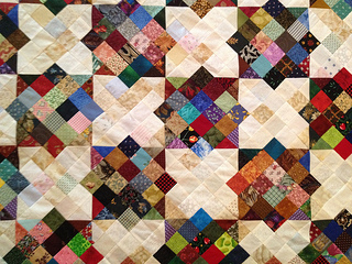 One of Charlotte's Scrap Quilts