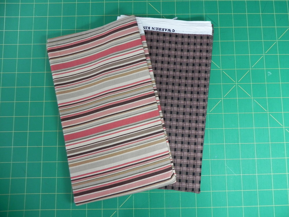 Prize #2: 1 yard stripe, 1 yard check