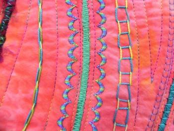 Carol Ann Waugh's Stupendous Stitching class