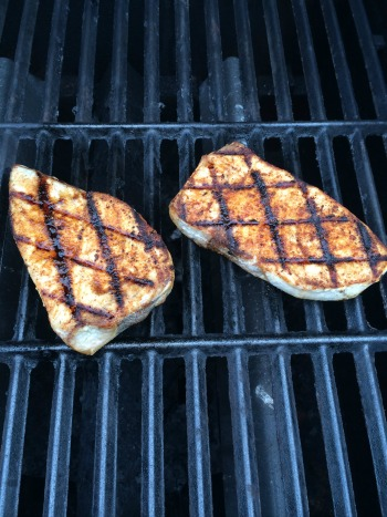 Pretty grill marks! Or, grill hashtags, for you #twilters out there.