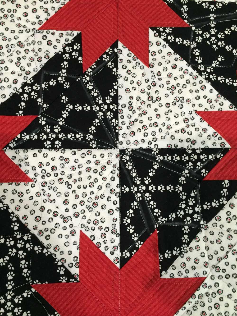Dot-to-Dot Quilting results