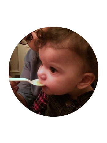 My one-year-old great niece was a particular fan of the soup. That was her dinner!