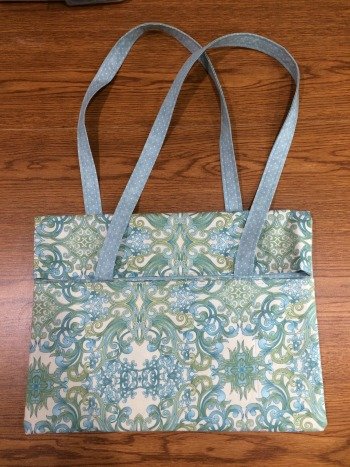 Foldover tote completed