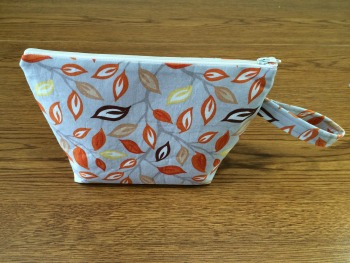 Zipper pouch completed