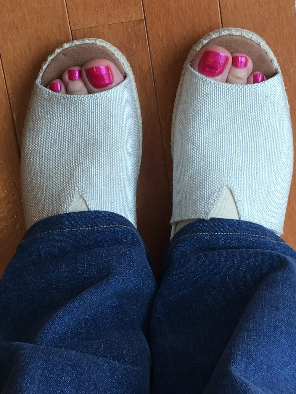 Love the look! Still testing comfort level at the toe end (see blog).