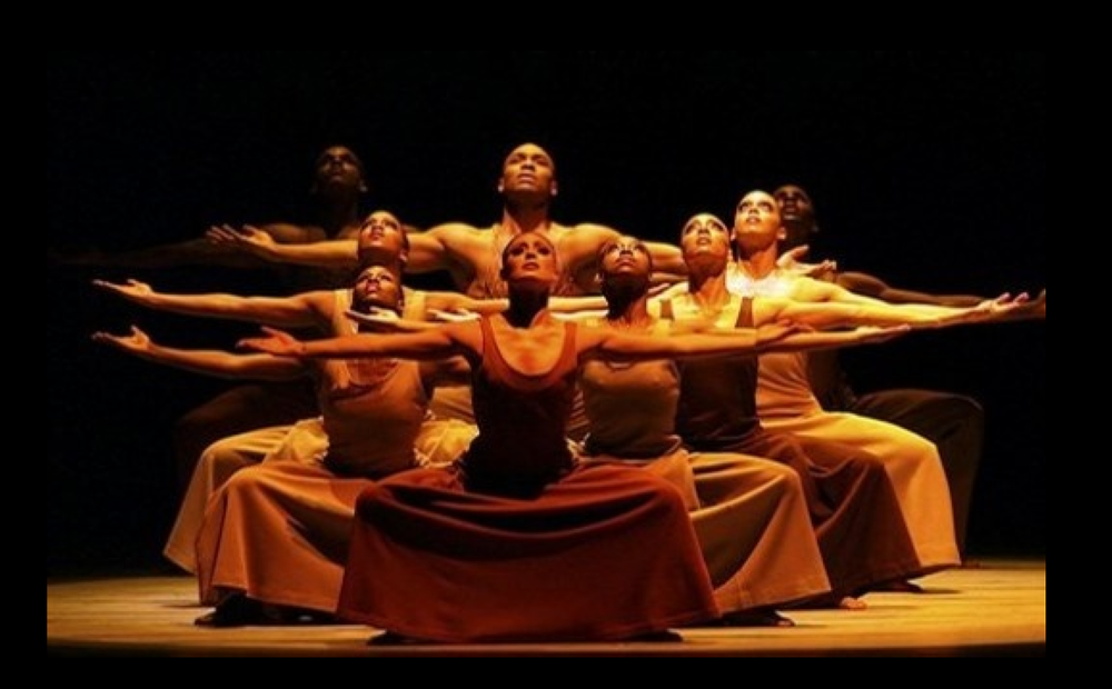 From Alvin Ailey's ballet  Revelations