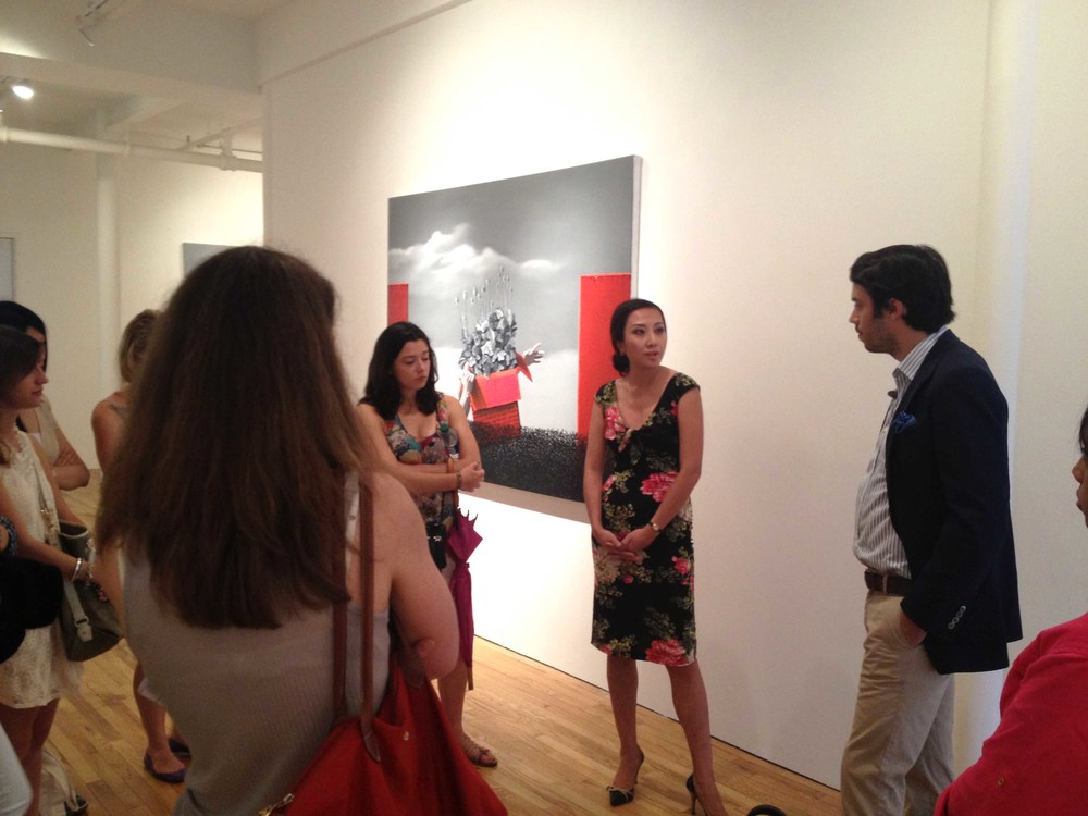 Asian Art Piers hosts gallery talk for Sotheby's Institute of Art