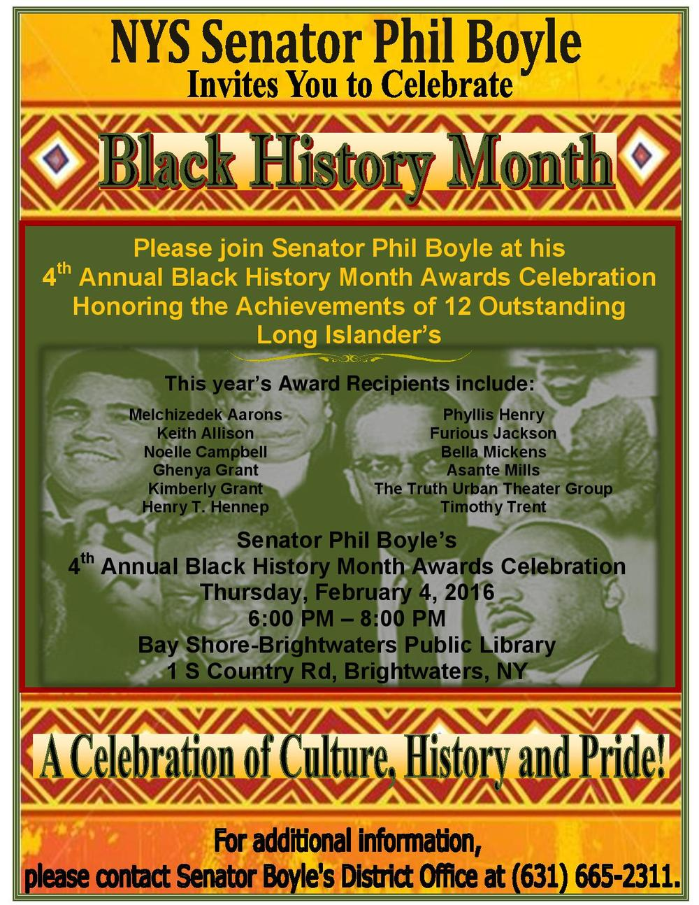 Campbell-Award Boyle Black Hist. Month