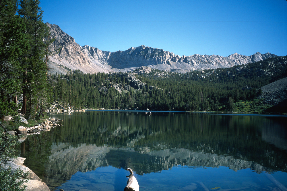 The Sierra Nevada Mountains have a rich stock of picture-postcard lakes.