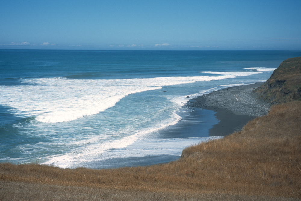 The Lost Coast Trail offers access to many pocket beaches that provide solitude for walkers.