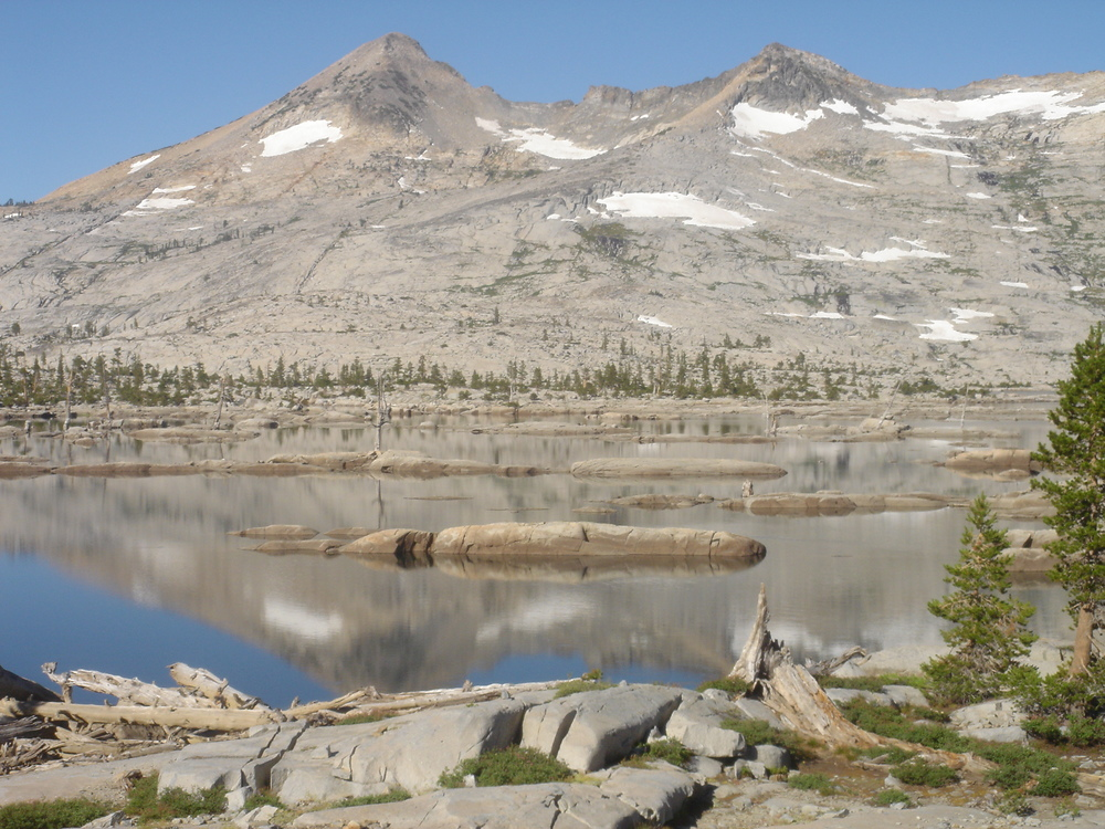 The Tahoe Rim Trail runs through the granite peaks and high mountain lakes of the Desolation Wilderness, thought by many to be the most beautiful section of the trail.