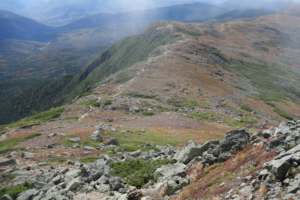 The Pesidential Traverse is one of the most striking sections of the Appalachian Trail.