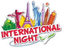 West Vincent's International Night logo