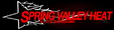 Spring Valley Heat All Star Cheerleading logo