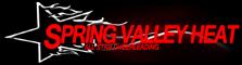 Spring Valley Heat All Star Cheerleading logo