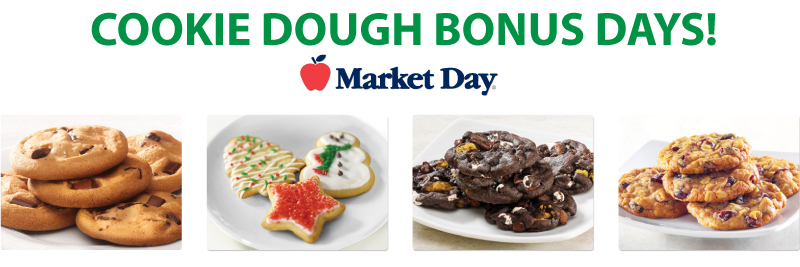 Market Day Cookie Dough Bonus Days