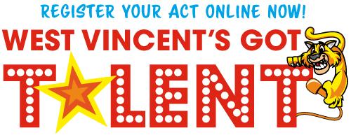 "Register now for ""West Vincent's Got Talent"" Show at West Vincent Elementary School!"