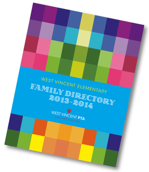 Previous year's Family Directory shown above.