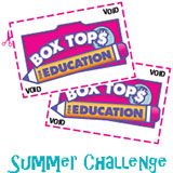 Clip 50 Box Tops by Sept.1 - Be entered to win a gift card!