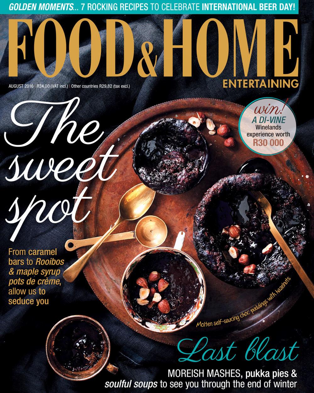Molten Self-Saucing Choc Puddings With Hazelnuts