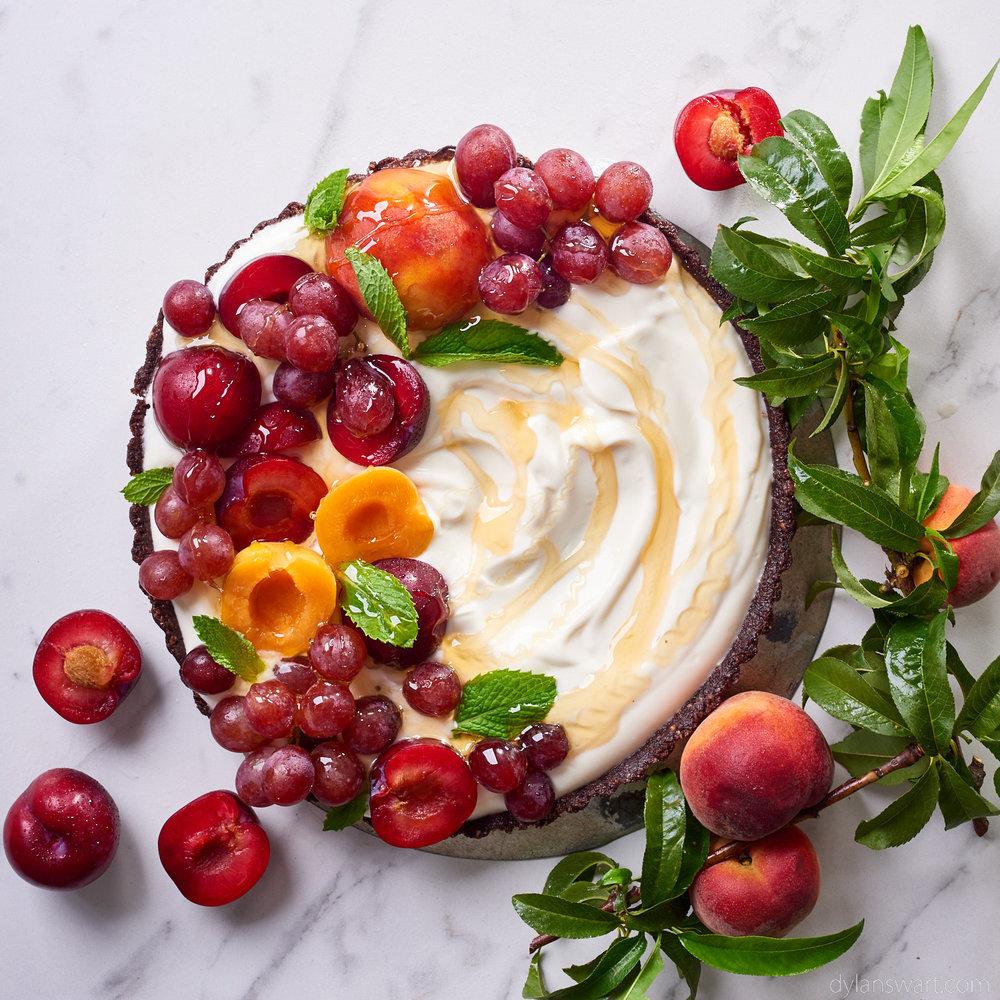Gluten-free yogurt tart