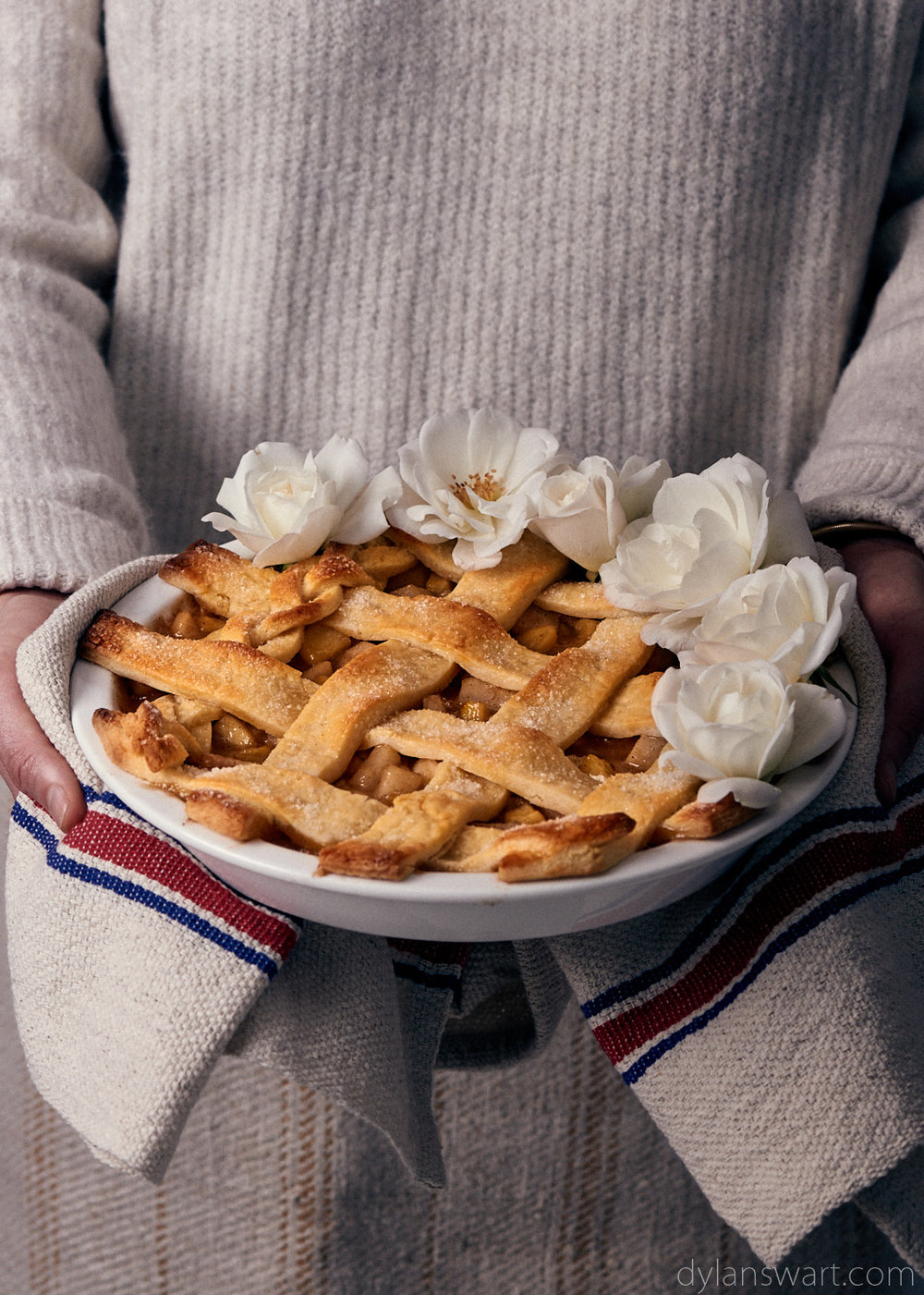 Apple Lattice Pie
