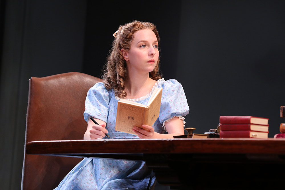 Thomasina in Arcadia at Yale Rep Photo: Joan Marcus