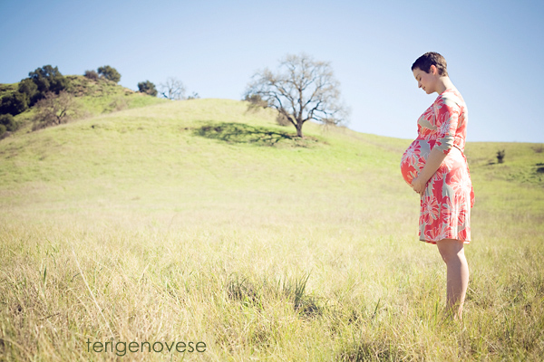 Malibu, California Maternity Portraits