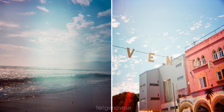 Diana Camera Film Photographs Venice, California