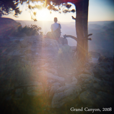 grand canyon, diana camera photograph