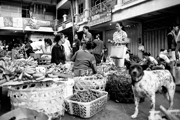 Traditional Balinese Ubud Market