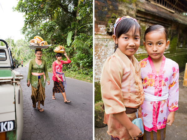Bali Documentary Travel Photography - Women and Girls at a Balinese Ceremonial Cock Fight, in the village of Sideman
