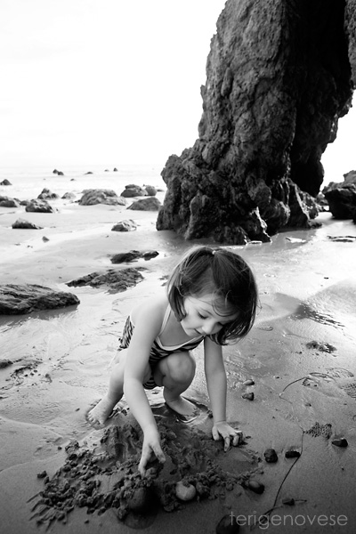 Malibu Beach Fine Art Children's Photography