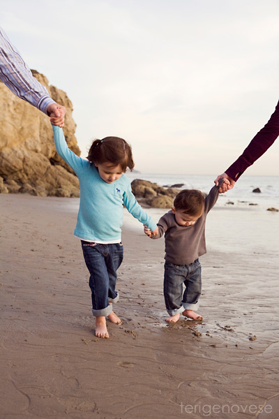 Malibu Beach Family Photography