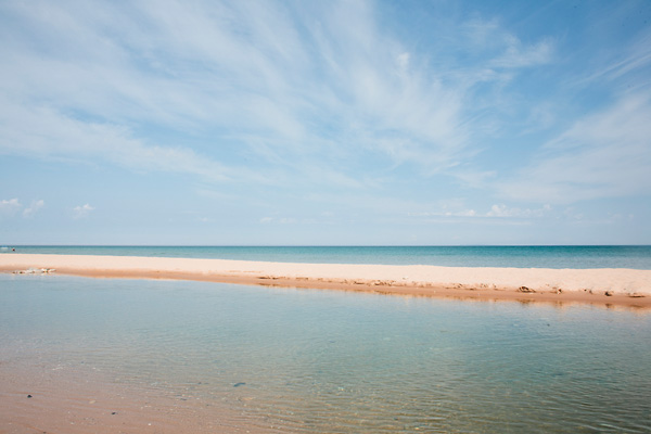 Platte River Lake Michigan Photography