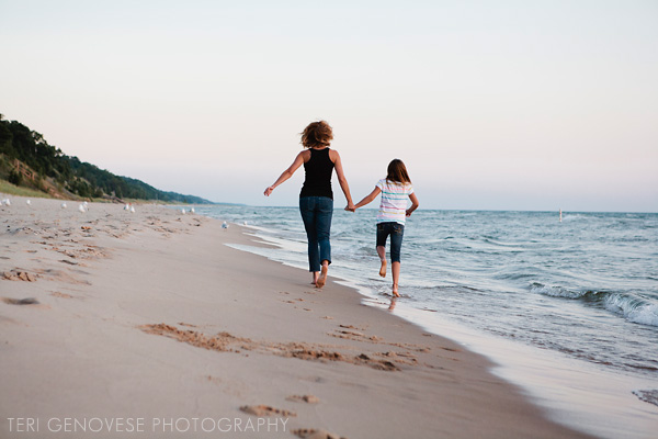 Lake Michigan Beach Family Photography ~ Relaxed, Documentary, Fine Art Portraits