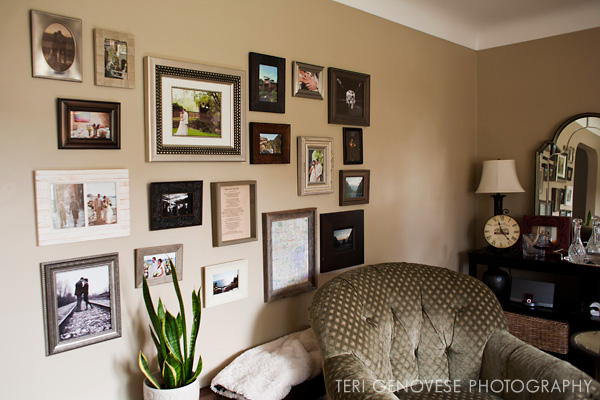 Photography Wall Arrangement Inspiration
