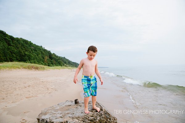Lake Michigan Family Photography