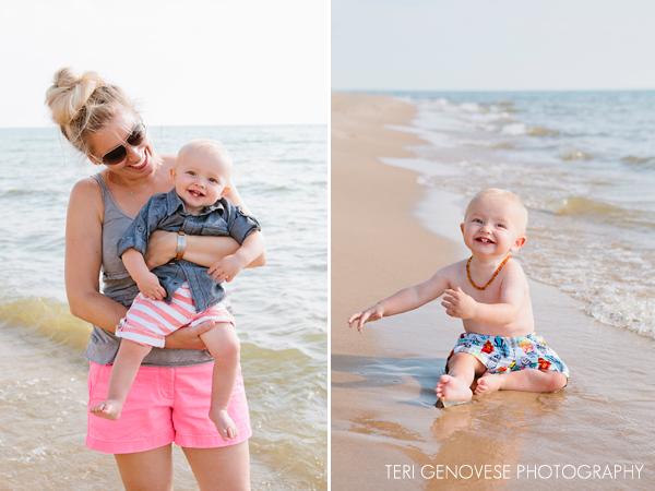 lake michigan lifestyle family photography