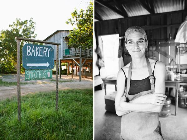 Caitlin's Bakery in Hopkins, Belize