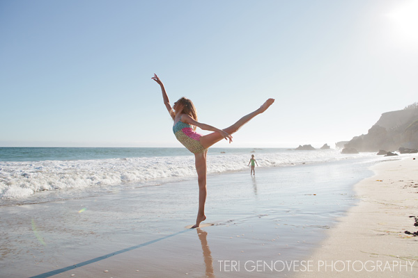 malibu beach dance photograph