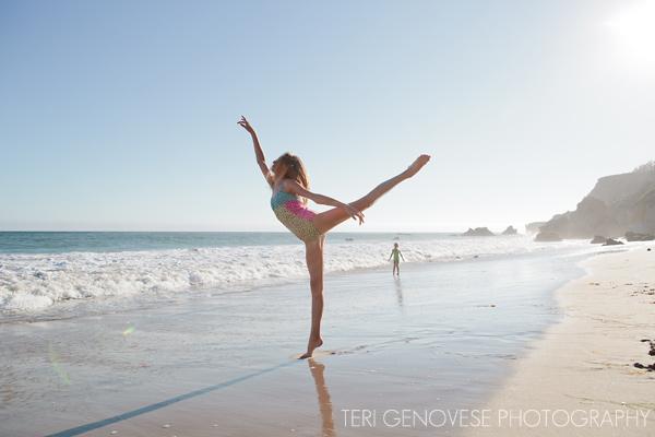 malibu beach dance photograph