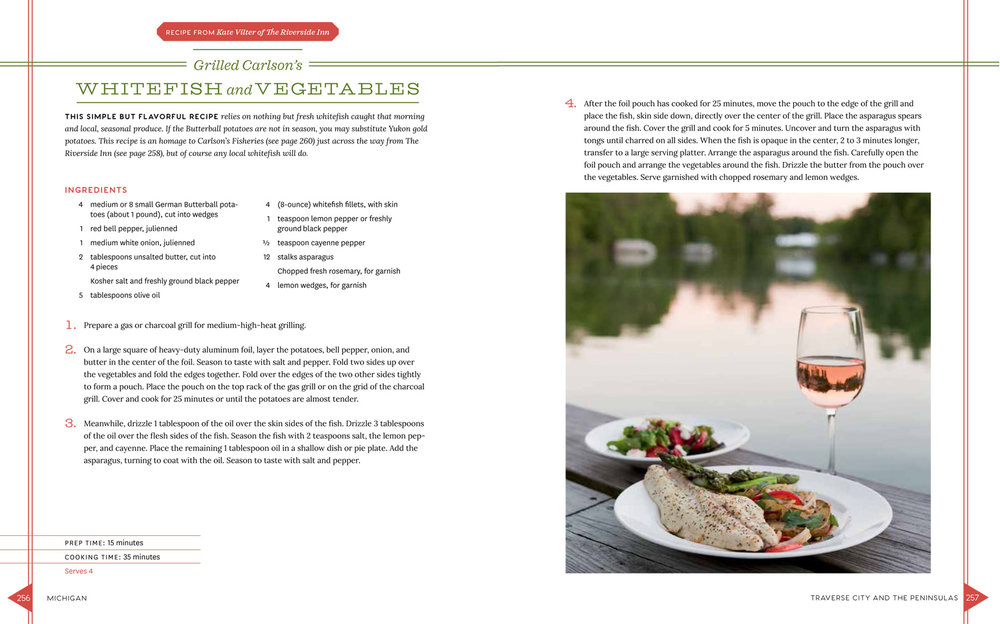 Excerpted from The Lake Michigan Cottage Cookbook Copyright Teri Genovese. Used with permission from Storey Publishing.