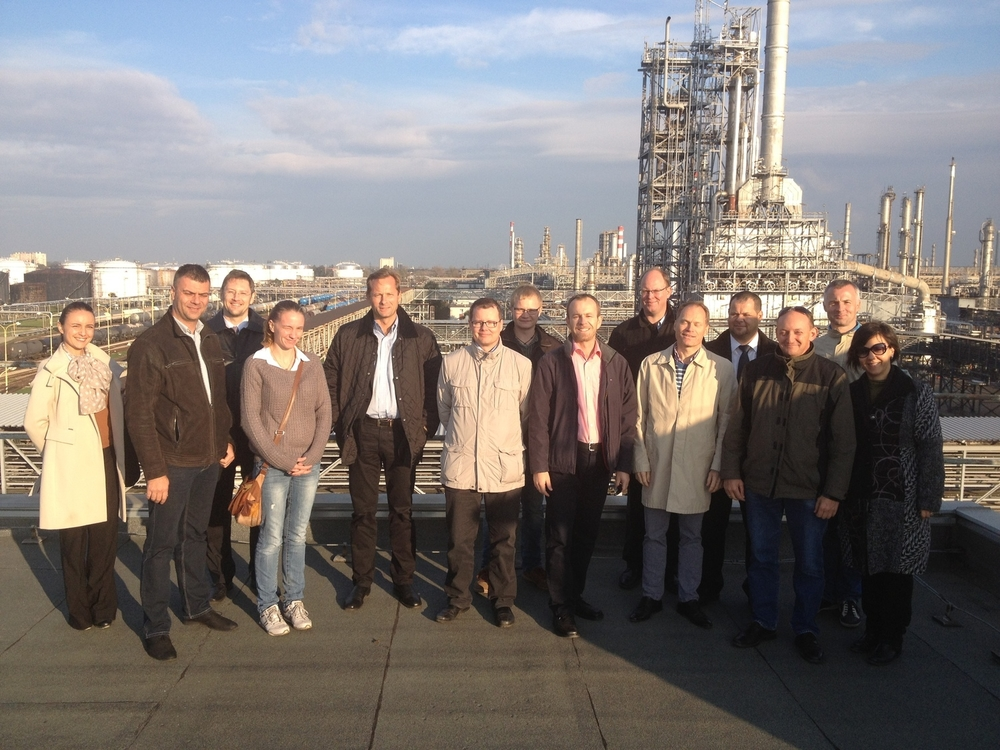 Business visit Oct 2014 - Slovnaft